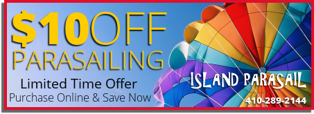 Ocean City Parasailing Coupon 10 Dollars Off