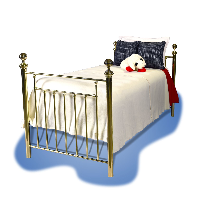 201 Boulevard Brass Bed
