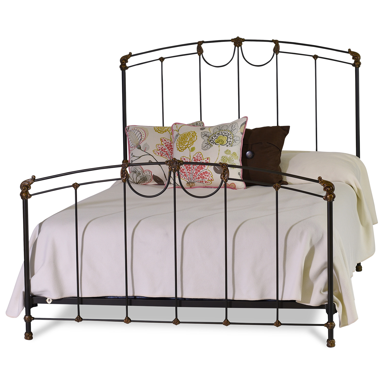 149 Scallop Iron Bed