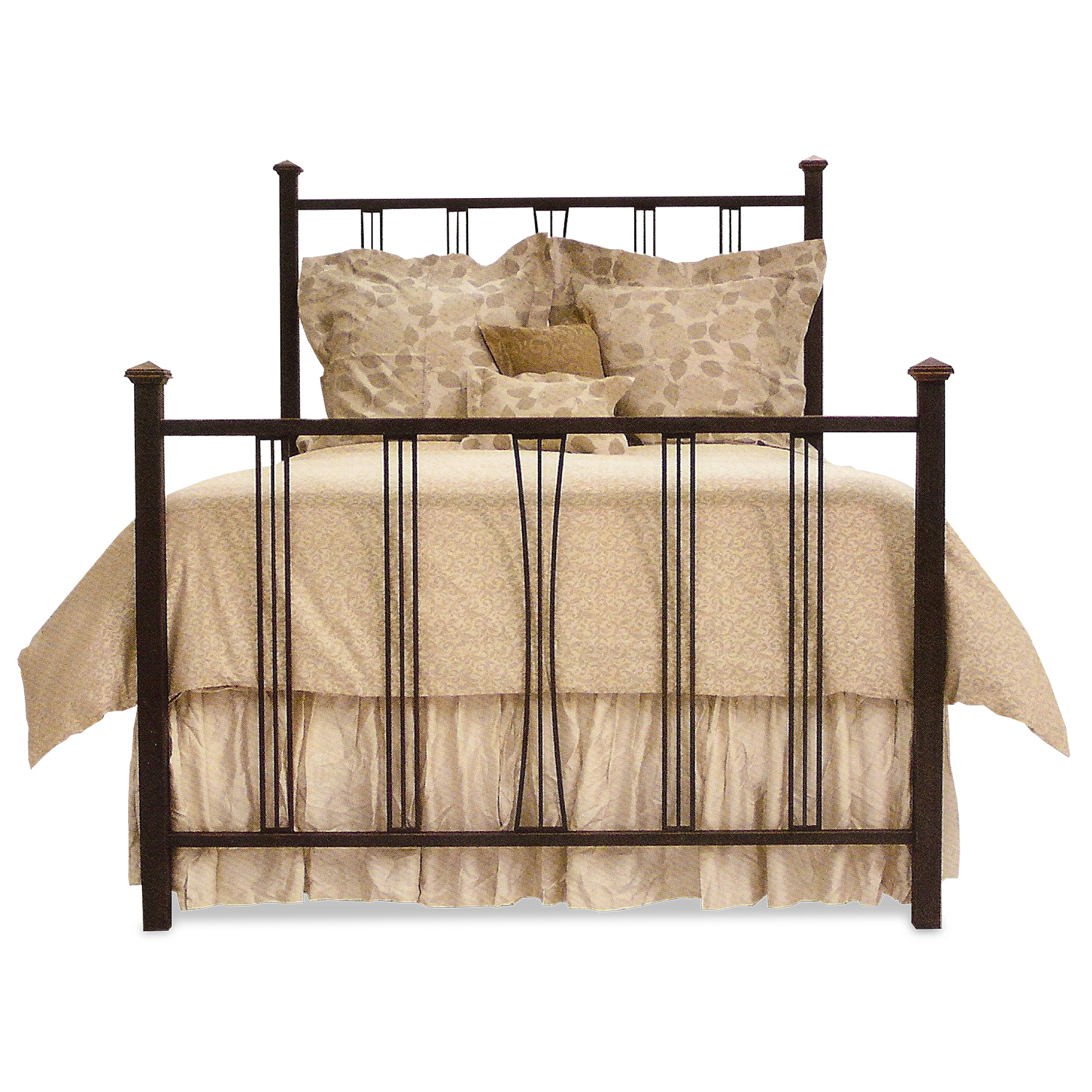 331 Arts and Crafts Metal Bed
