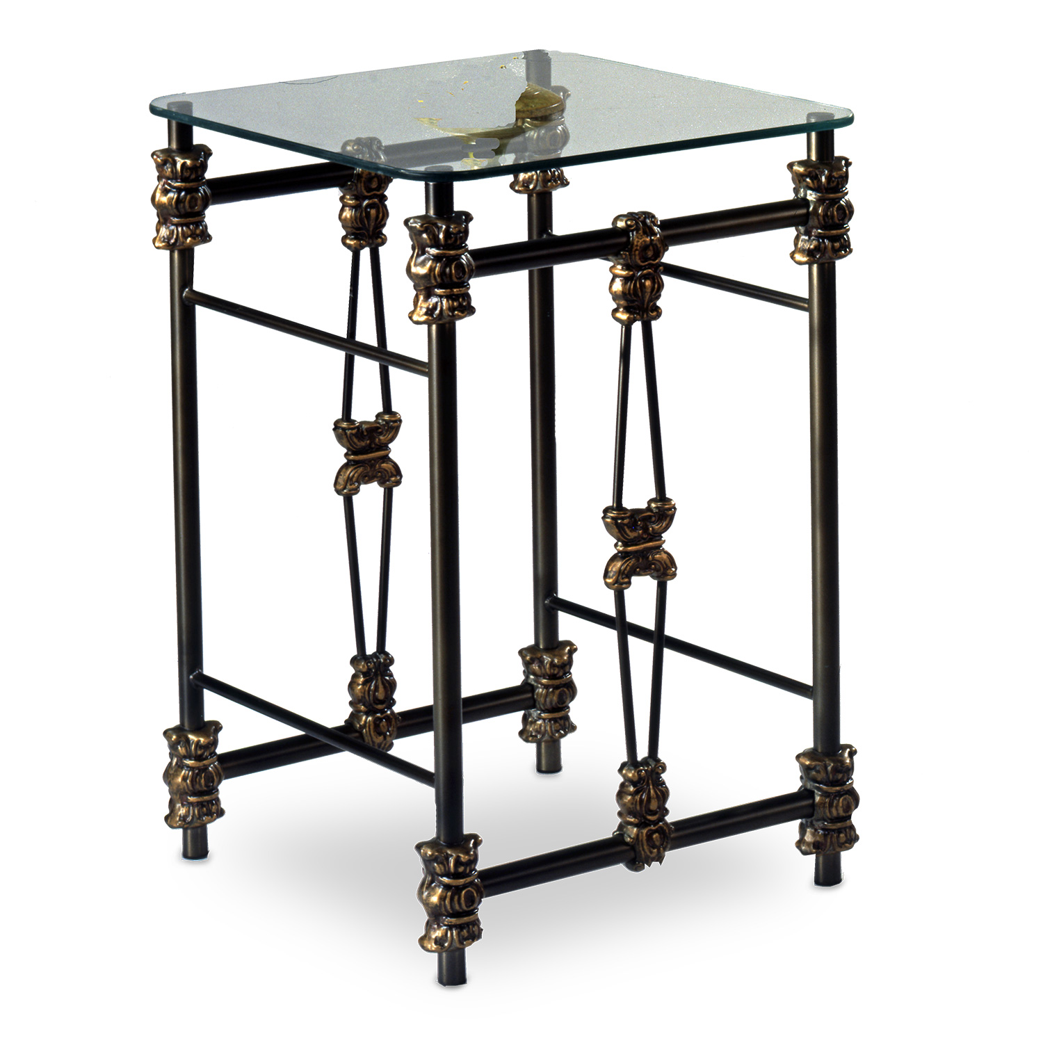 447 Friendship Iron Side Table