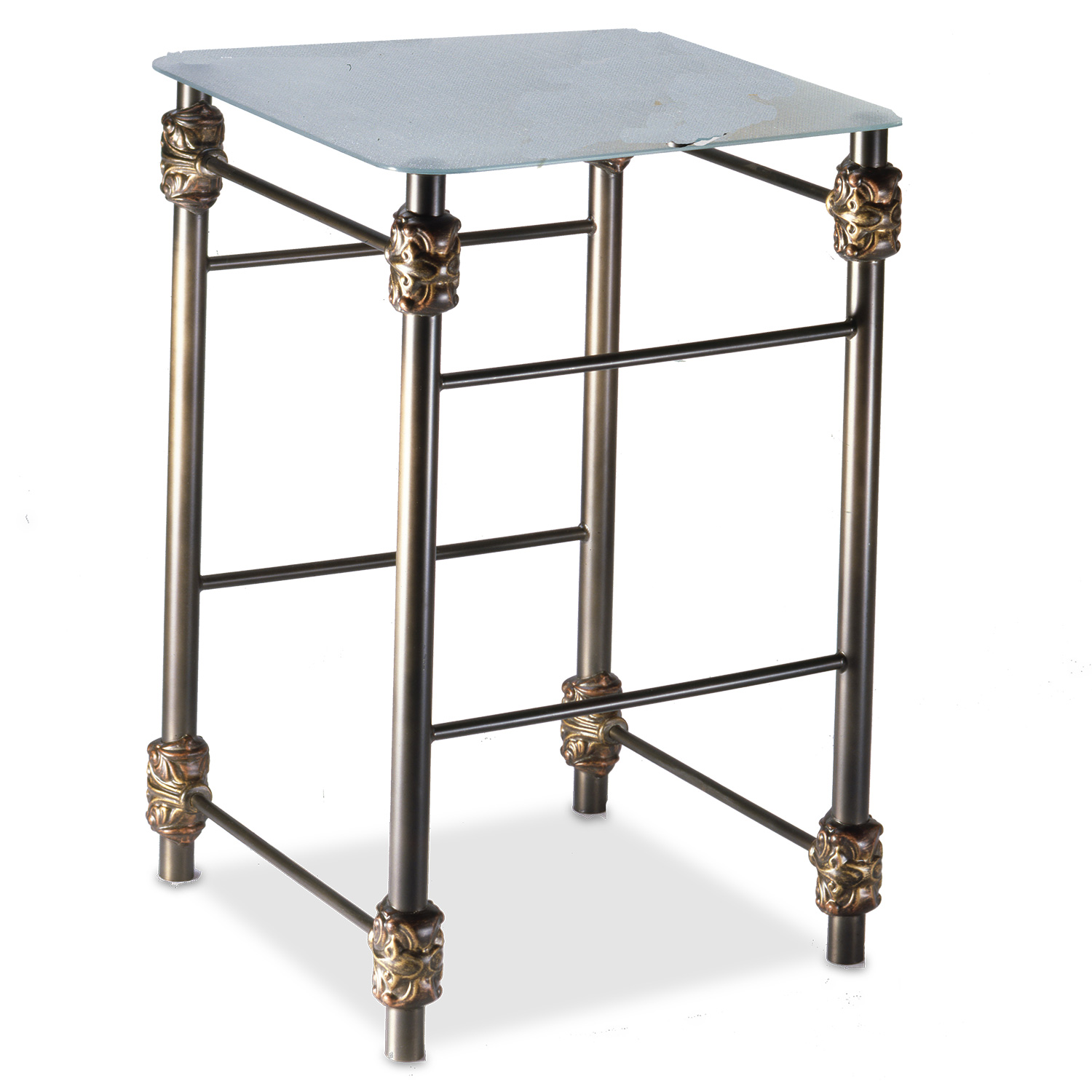 480 Oxford Iron Side Table