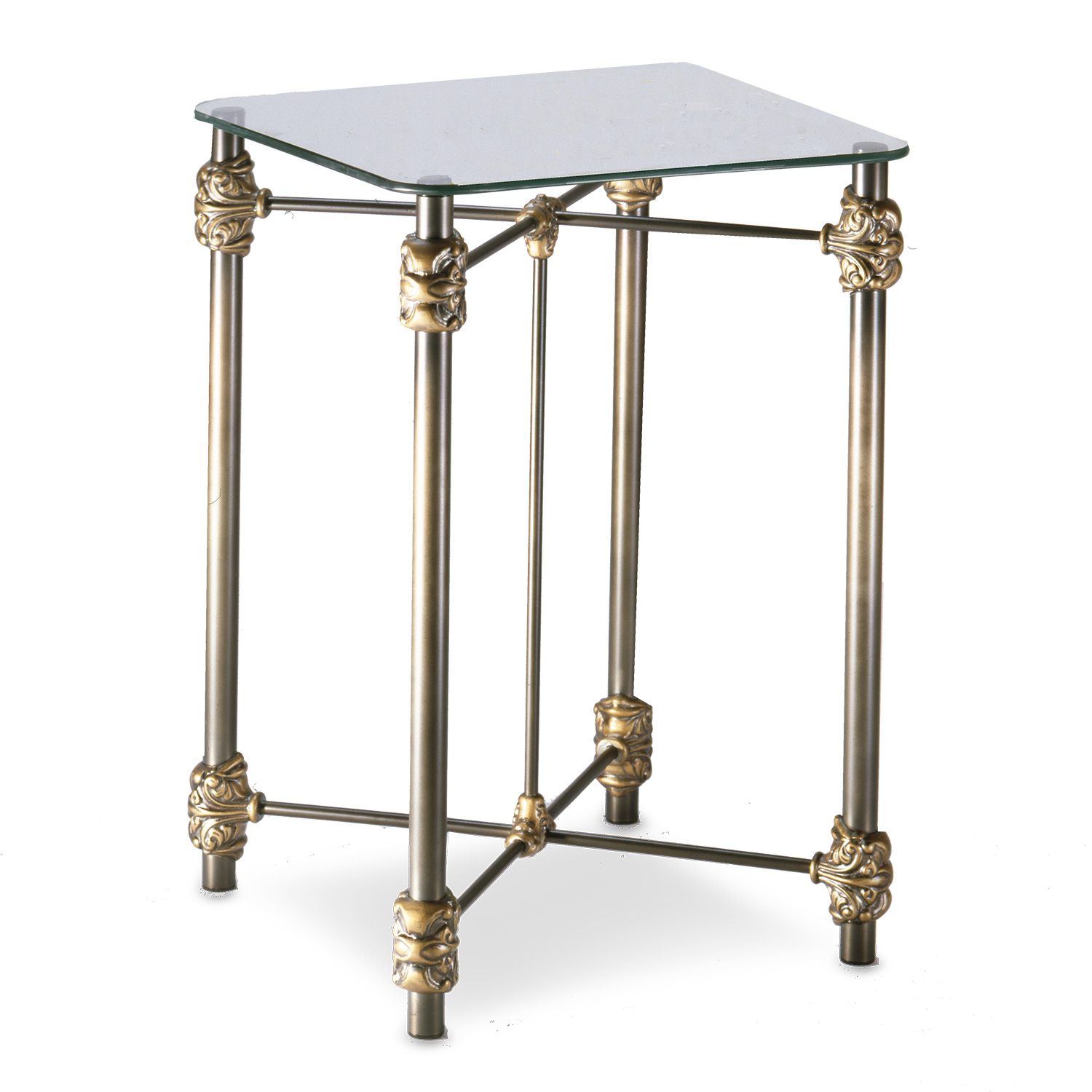 481 Excelsior Iron Side Table