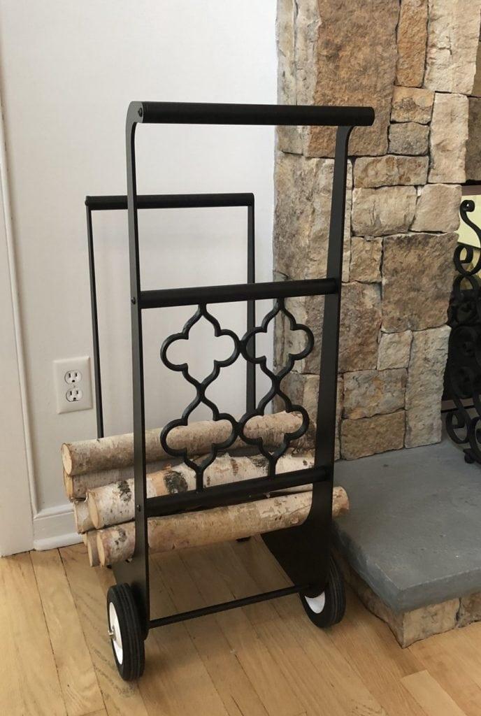 Gothic Firewood Cart