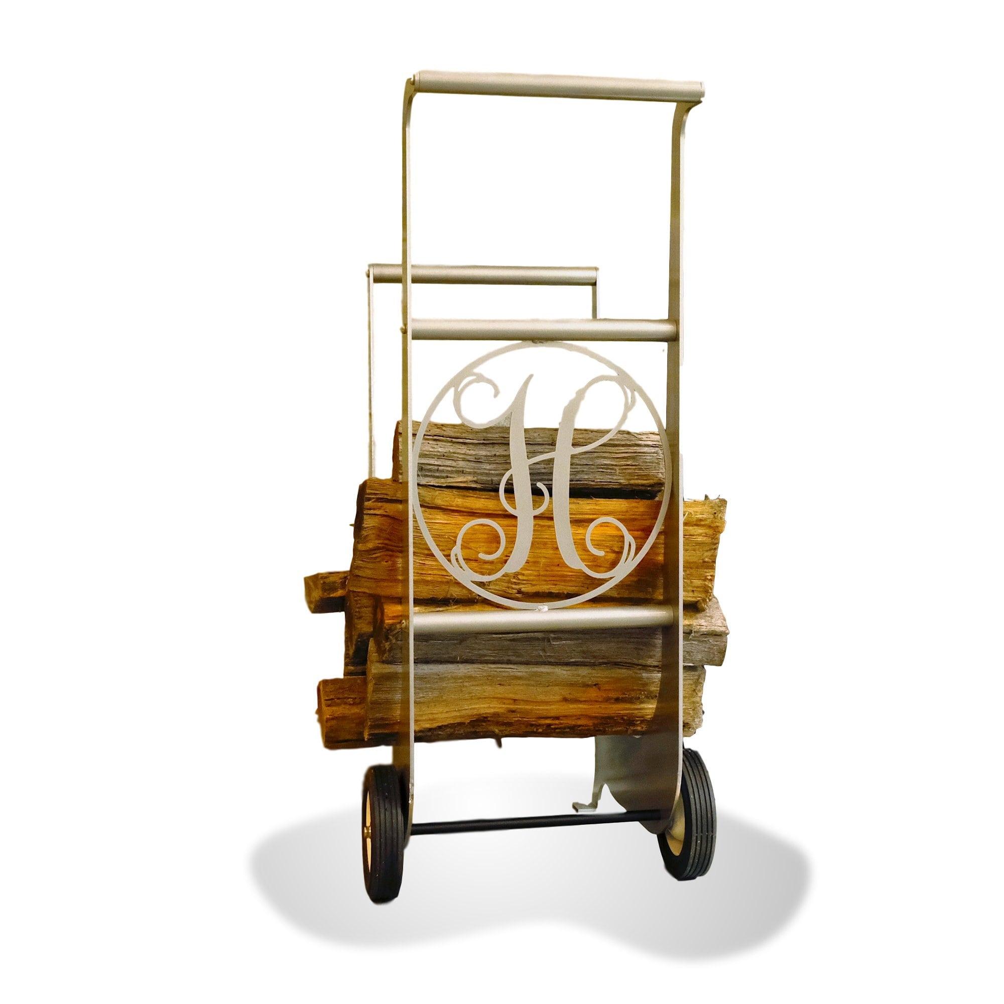Iron Firewood Cart