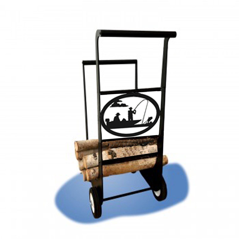 Fly fishing Firewood-Cart