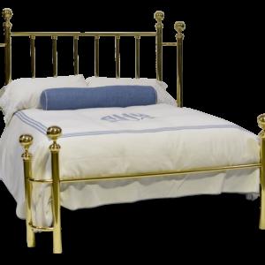 100-SW Millennium Brass Bed Side Wrap Posts