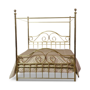 130-CAN Swirls and Curls Canopy Bed