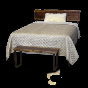 322 Live Edge Wood Bed