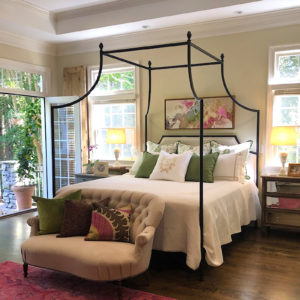 337 Flying Arch Canopy Bed