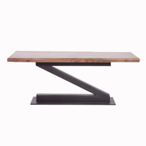 422-C Live Edge Wood Z Coffee Table
