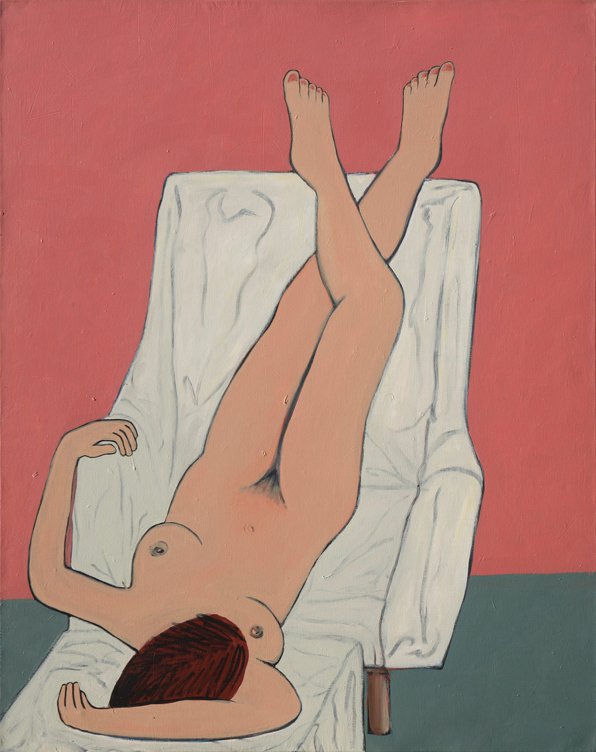 Figurative #275, Acrylic on Canvas, 1994 © Dan Badgley. All rights reserved.