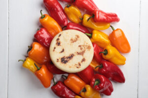 arepas y peppers