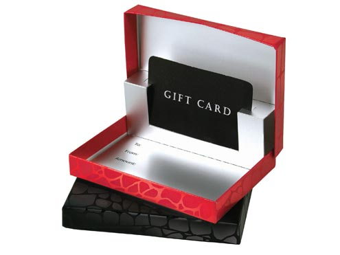 Pop-up Gift Card Boxes