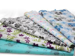 Floral Printed SatinWrap Tissue Paper
