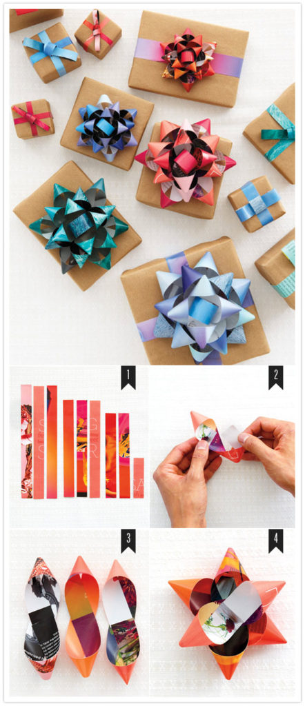 DIY custom gift bows