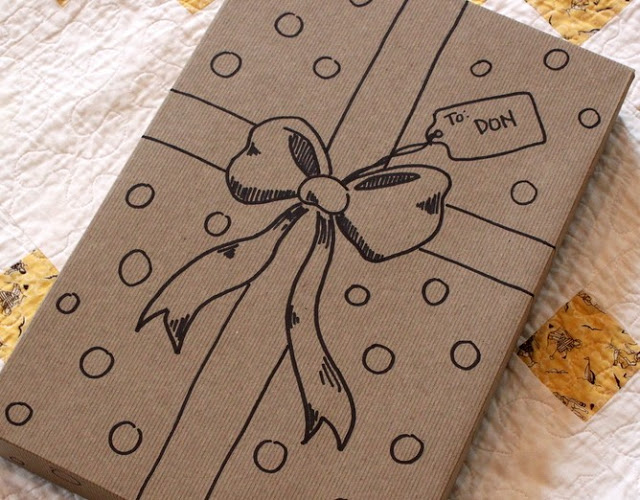 Ideas for paper gift wrap