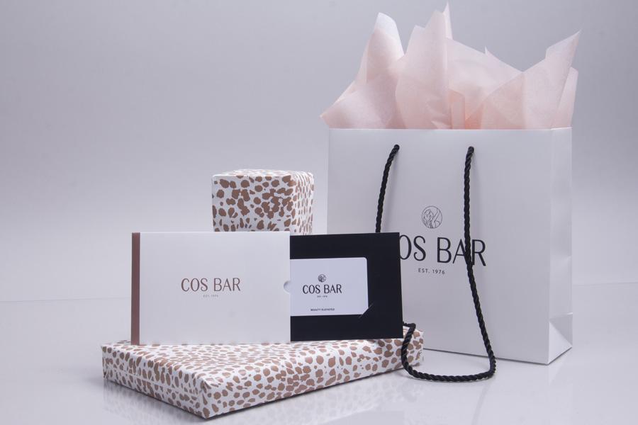 Cosbar branded packaging program