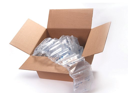 Sealed air cushion for shipping boxes