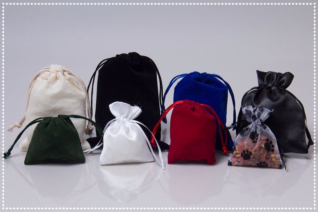 Drawstring Pouch bags for easy holiday packaging