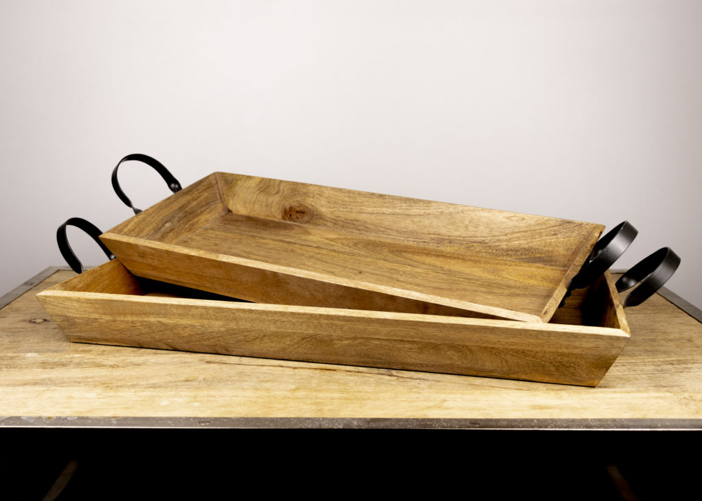 Pair of Farmhouse Trays (Travel Together)