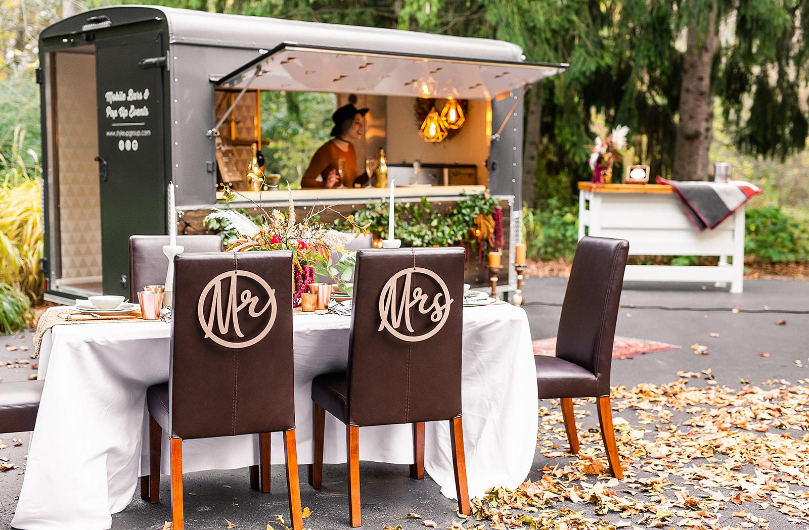 Styled Shoot - Modern Fall Wedding