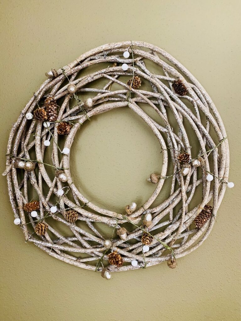 Winter Sparkle Wreath