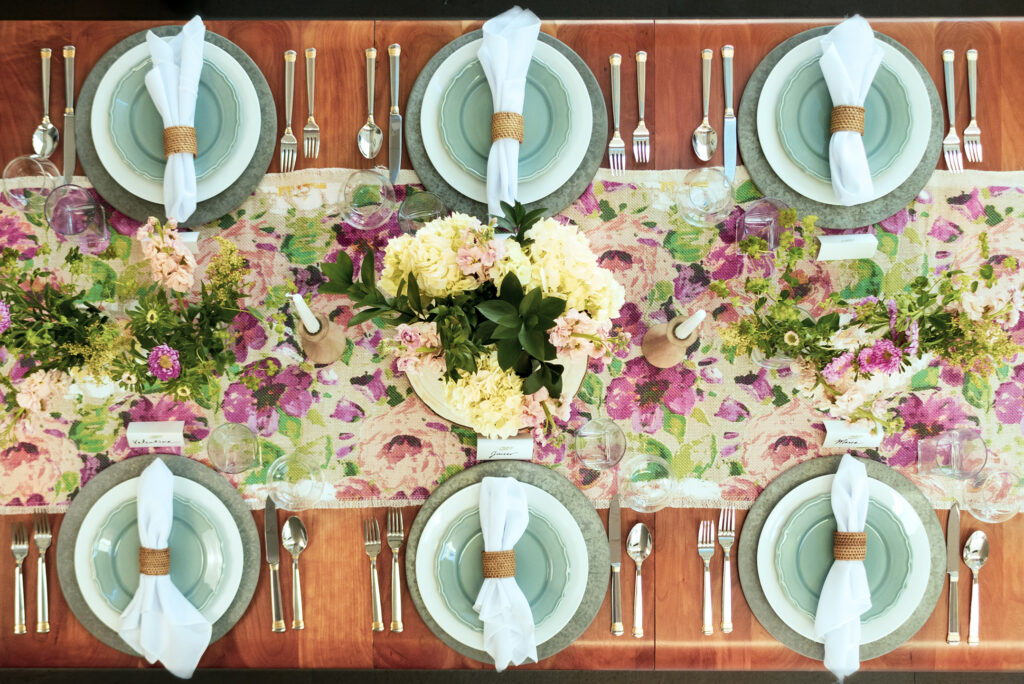 Natural Elements Table Runner