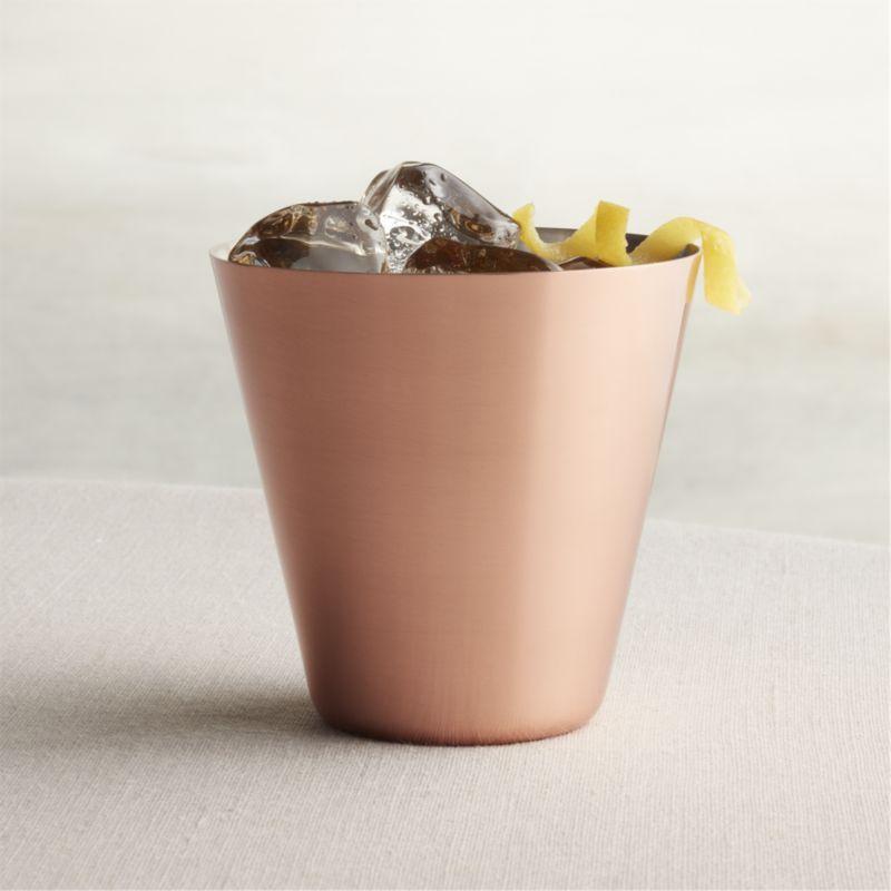 Copper Cocktail Glasses (Qty 12)
