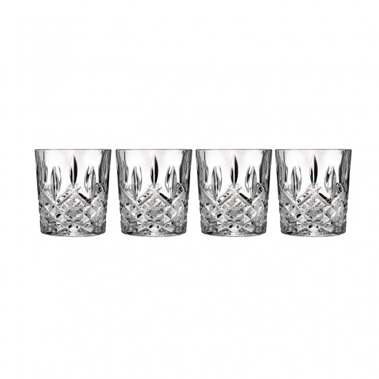 Crystal Cocktail Glasses, Various Designs (Qty 12)