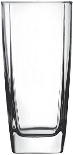 Square Drinking Glasses (Qty 12)