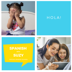 Spanish with Suzy Instagram template