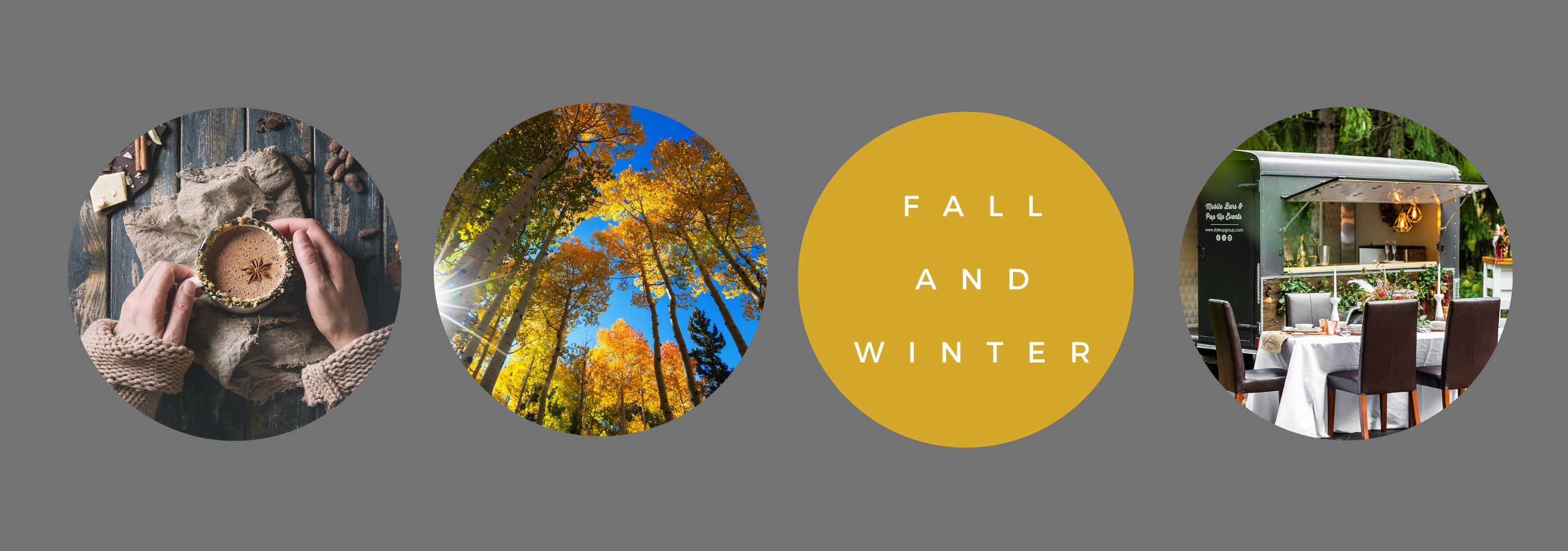 Fall and Winter Pop Ups