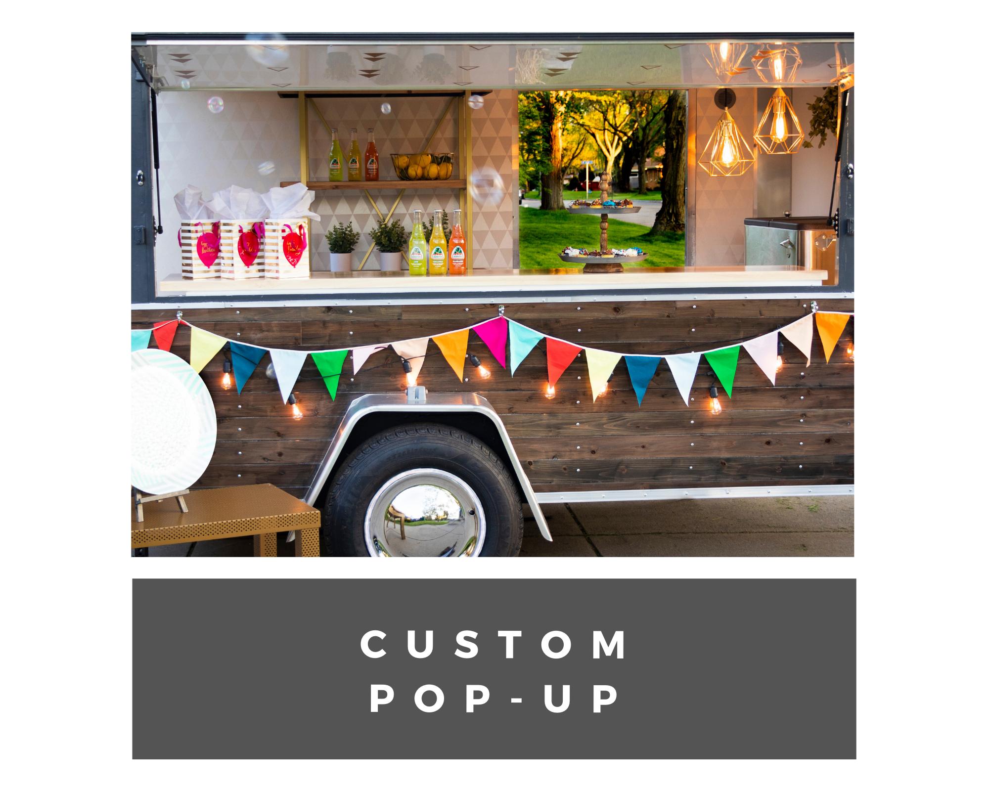 custom pop up