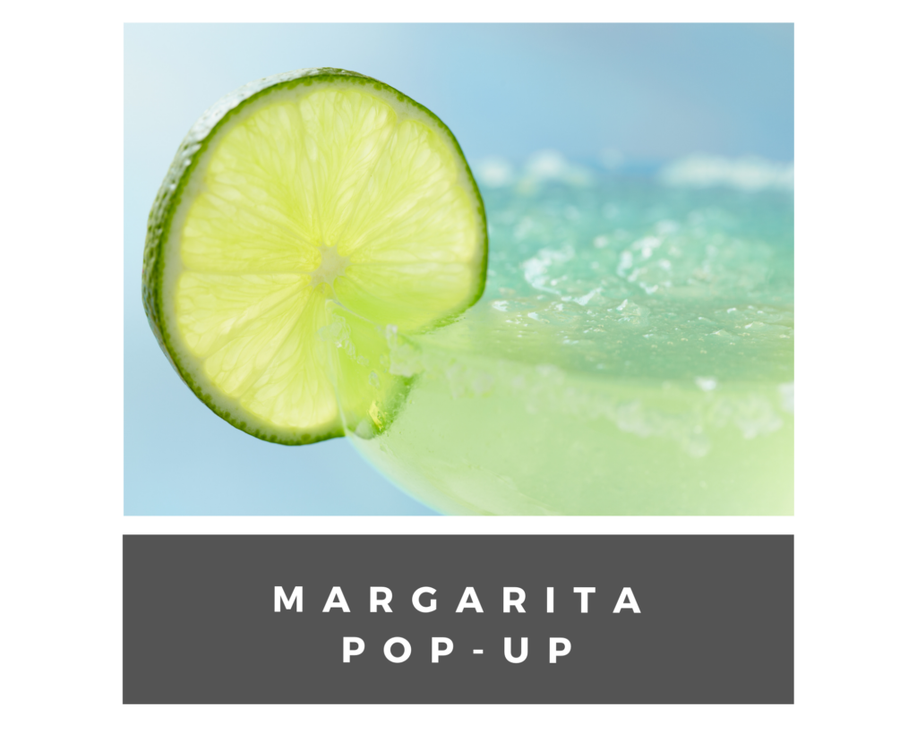 margarita pop up