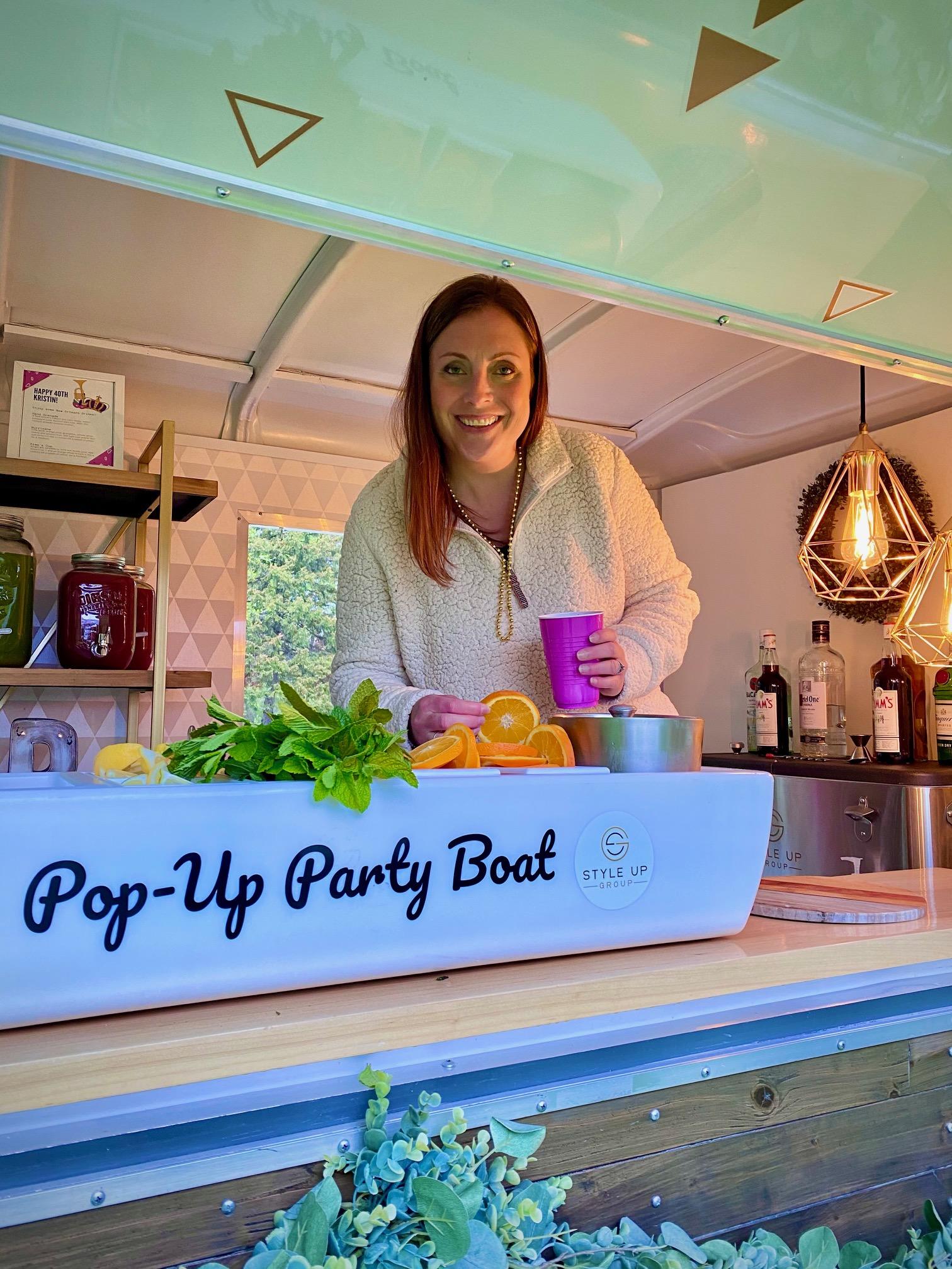 Pop Up Mixer Boat