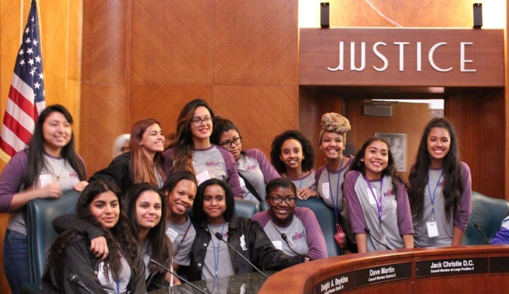 RISE Teens at City Council