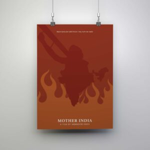 mother india poster sale