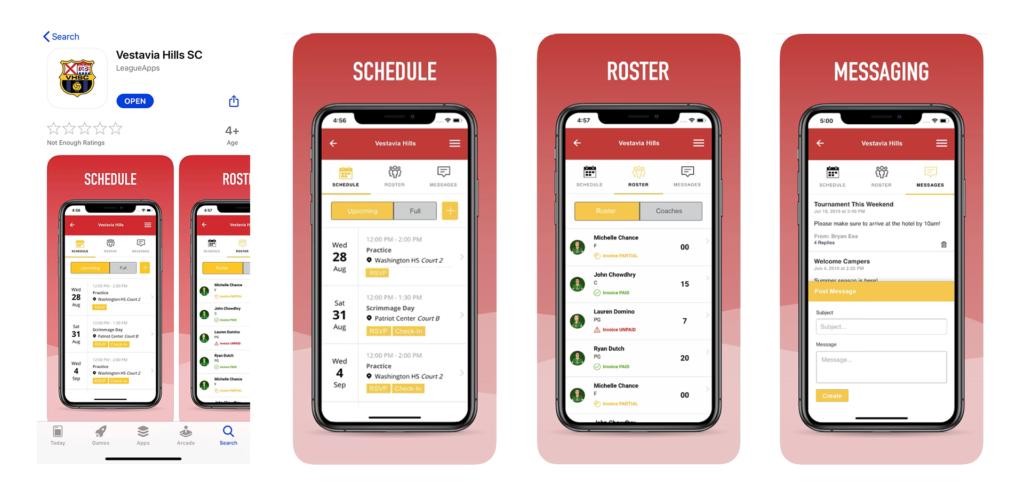 2020 Vestavia Hills SC App Main 01
