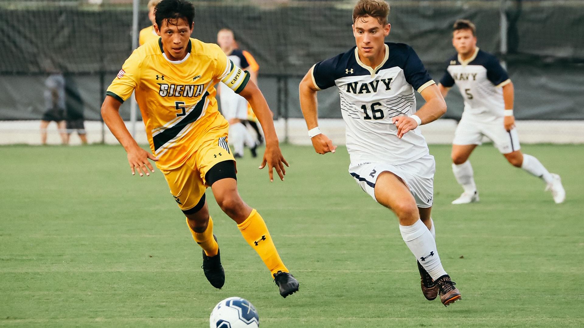 Navy Soccer