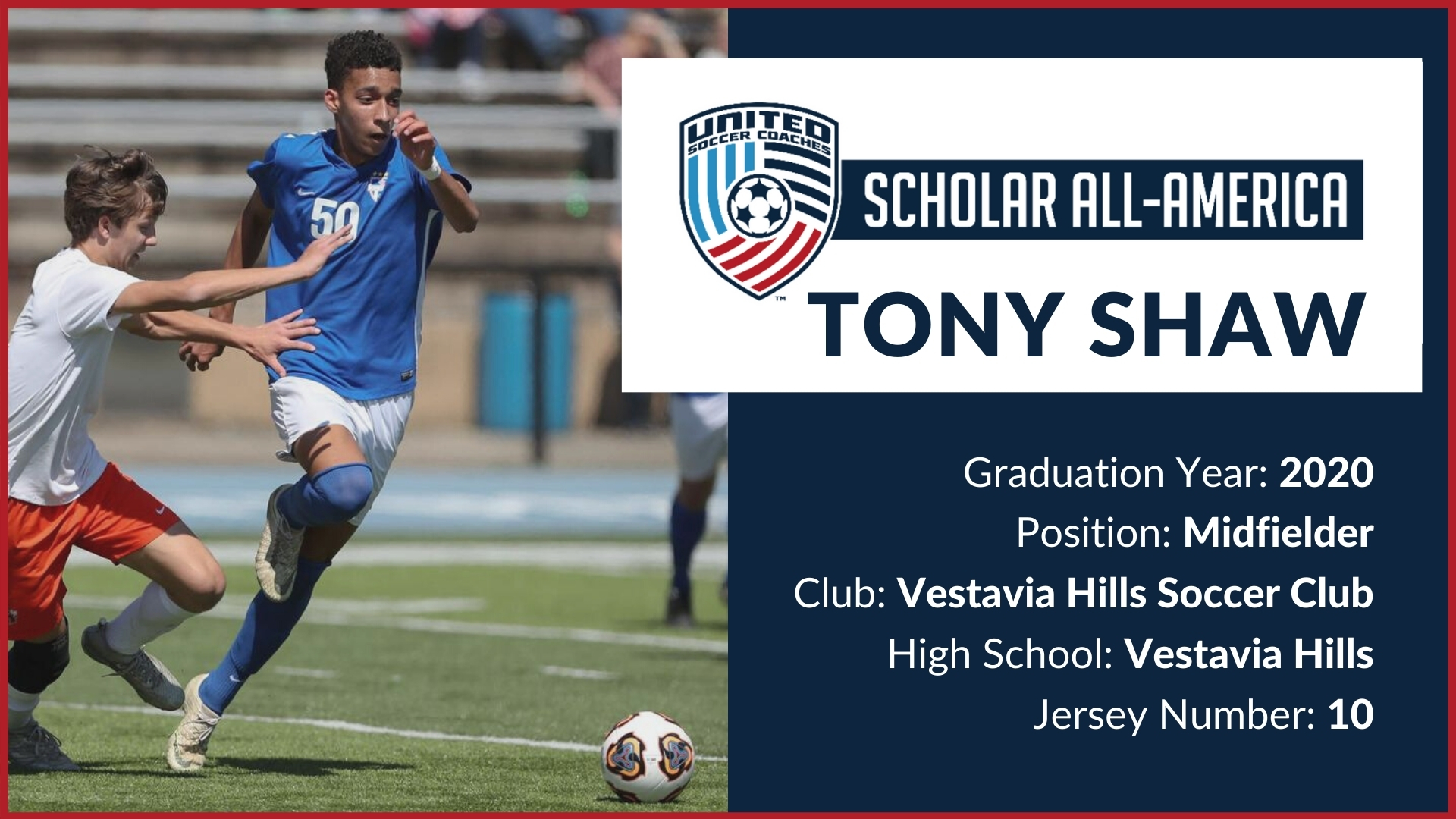 1920x1080 Tony Shaw USC Scholar All-America