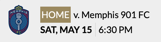 LFC - May 15 Memphis