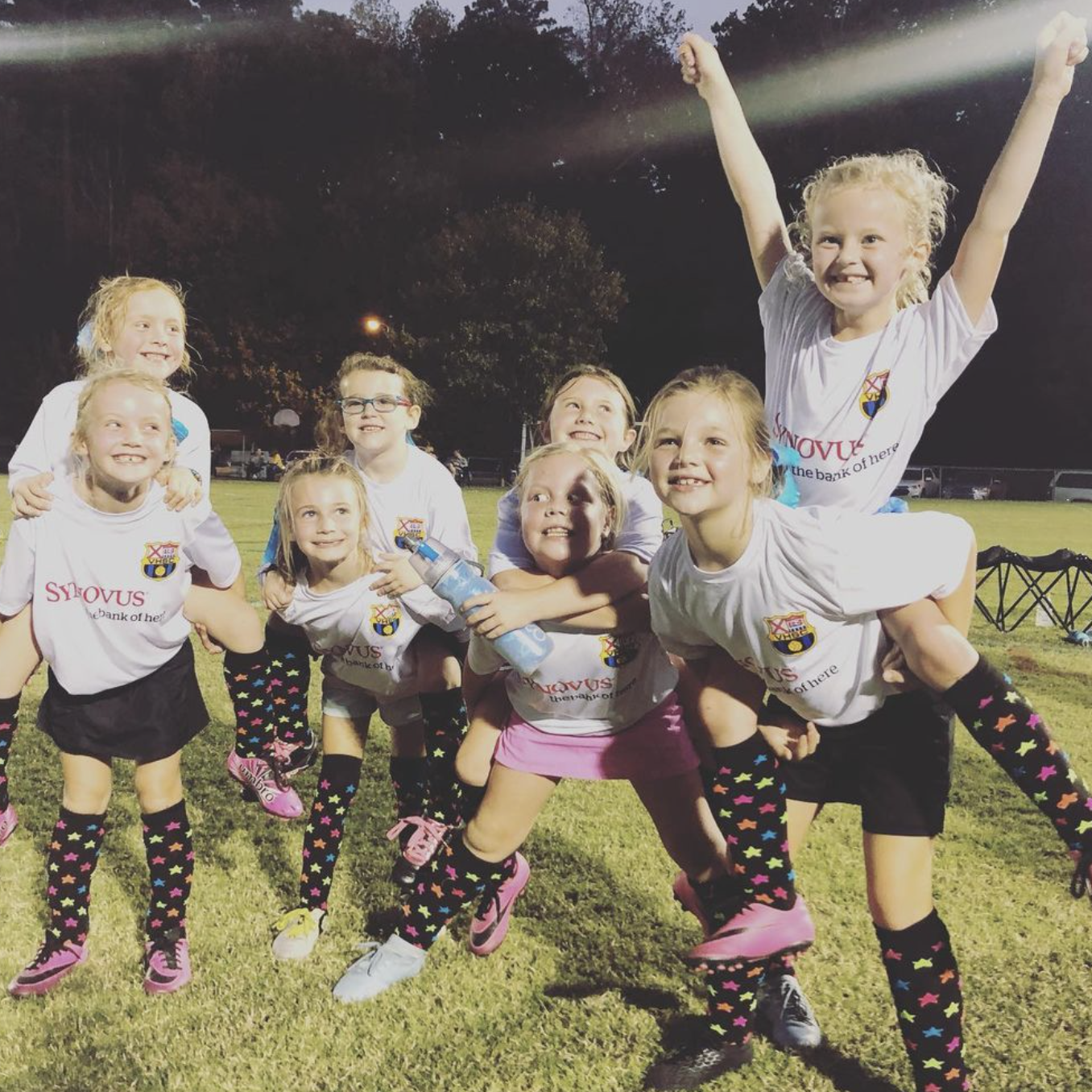 Rec Soccer 4 - Team Cheer