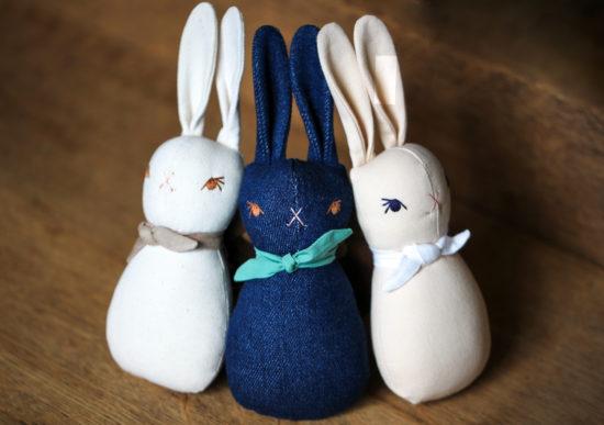 polka dot bunnies