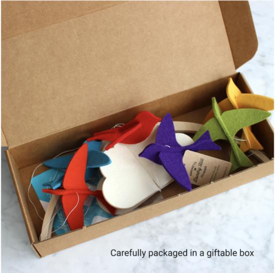 baby mobile gift box