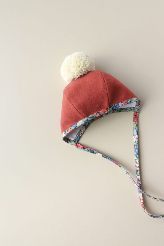 winter baby bonnet
