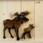 moose wall art