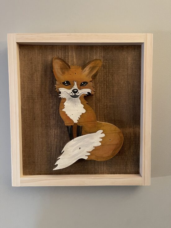 fox wall art and decor