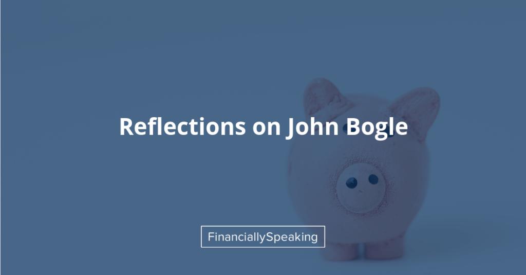John Bogle remembrance