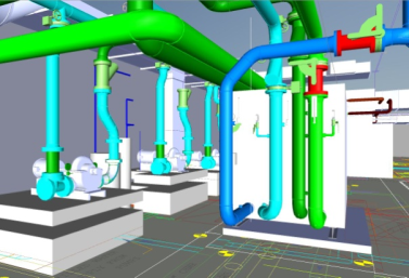amc cad drawing Chillers NBC Universal